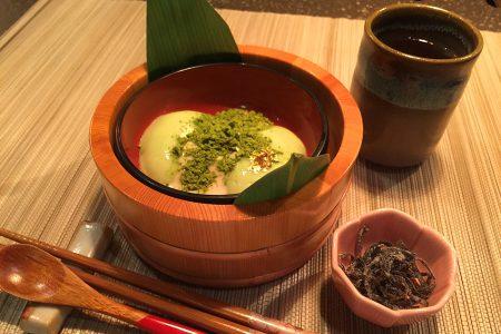 京都 抹茶胡麻豆腐スイーツ「こごみ」