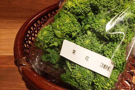 春野菜菜の花